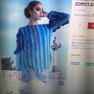Pakistani trouser shirt